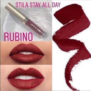 Stila red lipstick